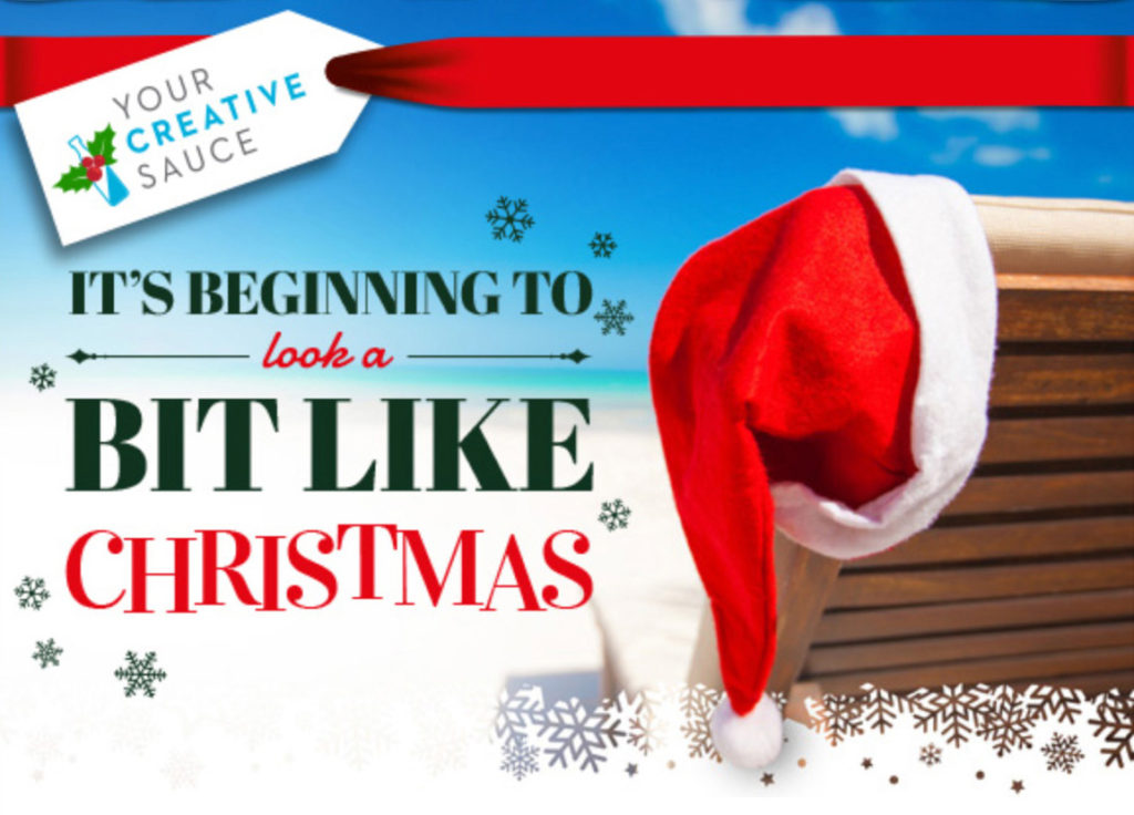 It's beginning to look a bit like Christmas at Your Creative Sauce